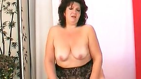 Drilled, BBW, Brunette, Chubby, Chunky, Dildo