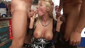 HD Helena White tube Helena White gets her mouth destroyed by guys rod