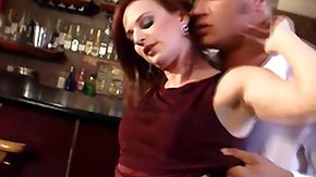 Audrey Lords, Bar, Close Up, Cougar, Couple, Fucking