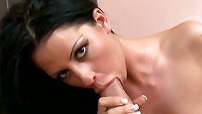 Larissa Dee, Ball Licking, Bend Over, Blowbang, Blowjob, Boobs