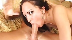 Spit, Banging, Big Cock, Blowbang, Blowjob, Brunette