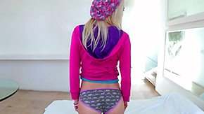 Chloe Foster, Barely Legal, Bed, Bedroom, Blonde, Coed