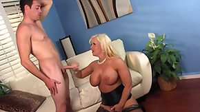Big Balls, Blonde, Blowjob, Masturbation, MILF, Rimjob