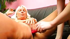 Granny Anal, Anal, Anal Toys, Assfucking, Blonde, Coed
