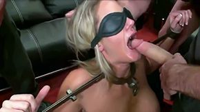 Tied Up, Ball Licking, Banging, Bimbo, Bitch, Blindfolded
