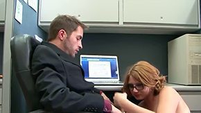 Free Ava Rose HD porn Ava Rose Kris Slater are couple of hardcore office perverts This fascinating college red corporalist gets all excited midst that chick takes his hard dick into her kisser