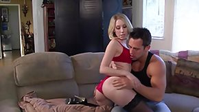 Free Jules Sterling HD porn Blonde chic Jules Sterling deepthroats and bonks on her mom's couch