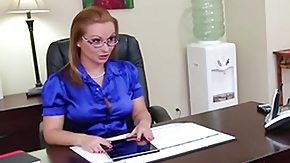 Free Secretary HD porn Katja Kassin and her employee