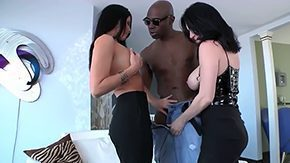 India Summer, 3some, Ball Licking, Big Natural Tits, Big Tits, Black Big Tits