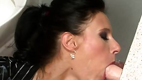 Gloryhole, Blowjob, Brunette, Bukkake, European, Fetish
