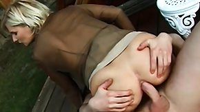 HD Austrian tube Austrian blonde longs for the outdoors and longs for getting nailed outside