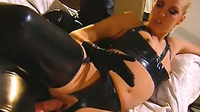 HD Dru Berrymore Sex Tube Latex lady Dru Berrymore earns her tight boiish male crammed with cock