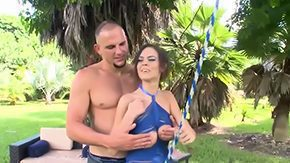 Cindy Jones, Amateur, Banging, Blowjob, Brunette, Choking