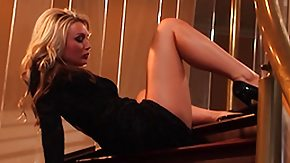 Kayden Kross, Blonde, Blowjob, Lady, Pretty
