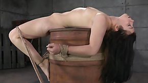 Bound, BDSM, Bondage, Bound, Brunette, Hogtied
