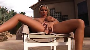 Big Tits Masturbation, Big Tits, Blonde, Boobs, High Definition, Housewife