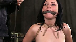 Tied, BDSM, Boobs, Bound, Brunette, Fetish