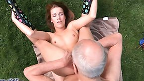 Grandpa, 18 19 Teens, Barely Legal, Blonde, Blowjob, Dad and Girl
