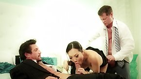 Double Penetration, 3some, Anal, Anal Finger, Asian, Assfucking
