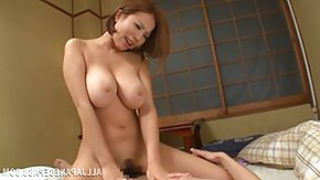 Monster Cock, Asian, Big Cock, Brunette, Japanese, MILF