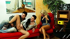 Classy, 3some, Blonde, Brunette, Classy, Clothed