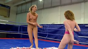 Wrestling, Babe, Banging, Blonde, Brunette, Dominatrix