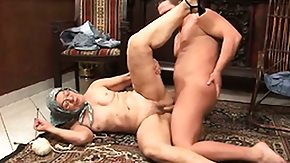 Grandmother HD porn tube Grandmother giving some head and pussy to an overexcited infant hick