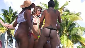 HD Bdsm tube SpringBreakLife Video: Pool BDSM social event Playgirls