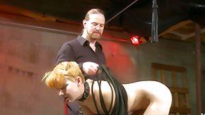 Torture, BDSM, Blonde, Insertion, Maledom, Master