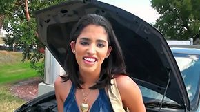 Maria, Beauty, Car, Coed, College, Cute