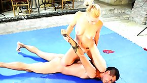 Stacie Starr, Babe, Blonde, Feet, Fetish, Fight