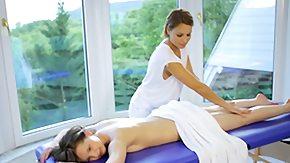 Lesbians Massage, Brunette, High Definition, Lesbian, Lesbian Teen, Massage