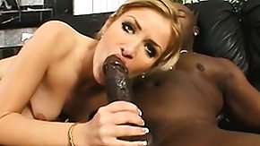 First, Big Black Cock, Big Cock, Blonde, Blowjob, Hardcore