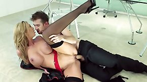 Free Leigh Darby HD porn Curvy Leigh Darby is a glamorous sex hungry MILF in noble black hose and high heels She gives boss and