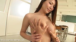 Teacher, Babe, Boobs, Brunette, Japanese, Student