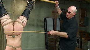 Bamboo, Ass, BDSM, Brutal, Caning, Maledom