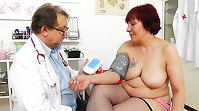 Clinic, Big Tits, Clinic, Fat Granny, Fingering, Fishnet