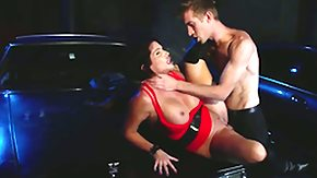 Shay Fox, Ball Licking, Blowbang, Blowjob, Boobs, Choking