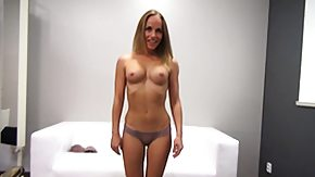 Czech, Audition, Behind The Scenes, Blonde, Casting, Czech