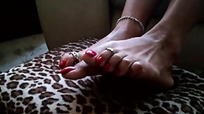 Toes, Feet, Fetish, High Definition, Latina, Mature