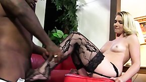Stockings, Blonde, Feet, Fetish, High Definition, Interracial