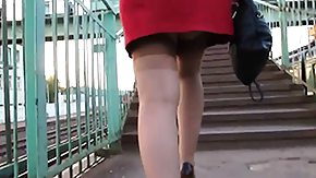 Upskirt, Amateur, Feet, Fetish, High Definition, Leggings