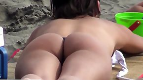 Latina, Amateur, Ass, Beach, Brunette, Candid