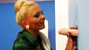 Free MILF HD porn Gloryhole euro cum covered after sucking cock