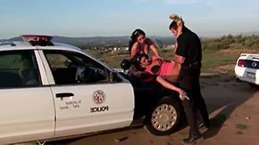 Police Girl High Definition sex Movies A handful of young chicks Angelina Valintine Roxy Jezel are having outdoors getting laid with police officer Jordan Ahs These bitches are quite vilifying