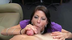 Mature Blowjob, Aunt, Ball Licking, Big Cock, Big Natural Tits, Big Nipples