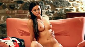 Free Melissa Mendini HD porn Brunette Melissa Mendini with her existence is getting waiting for her castign slowly taking off her clothes revealing her tits drenched shaved