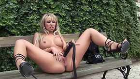 Shoes, Boots, Dildo, High Definition, Masturbation, Outdoor