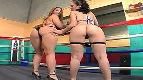 Girl Fight, Ass, Ass Worship, Babe, BBW, Big Ass