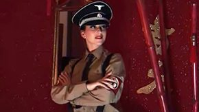 Nazi HD porn tube Nazi cunt gets fucked by bbw black wang in a-hole anal babe blowjob brunette ride from behind thumping group tongue lingerie MILF fine leggings uniform big